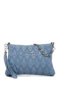 Valentino By Mario Valentino Vanille Diamond Quilt Leather Shoulder Bag