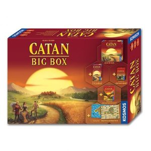 Joc de societate Kosmos Catan Big Box
