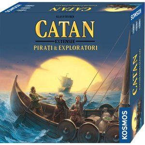 Catan - Pirati & Exploratori, joc de societate