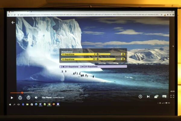 Videoproiector Epson EH-TW650, Full HD keystone