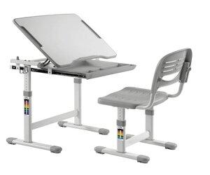 Birou si scaun pentru copii YANA, ajustabile, gri